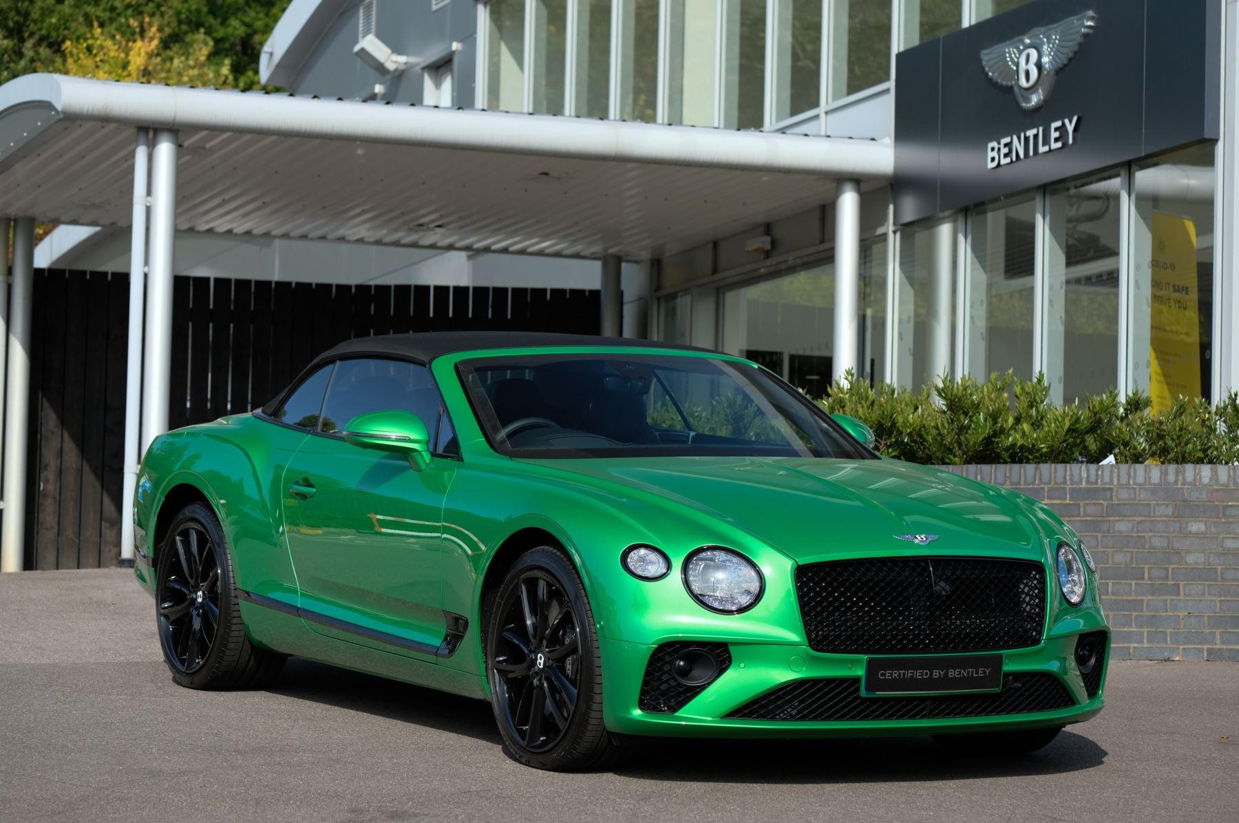 Bentley Continental GTC 6.0 W12 2dr Mulliner Driving Specification image 21