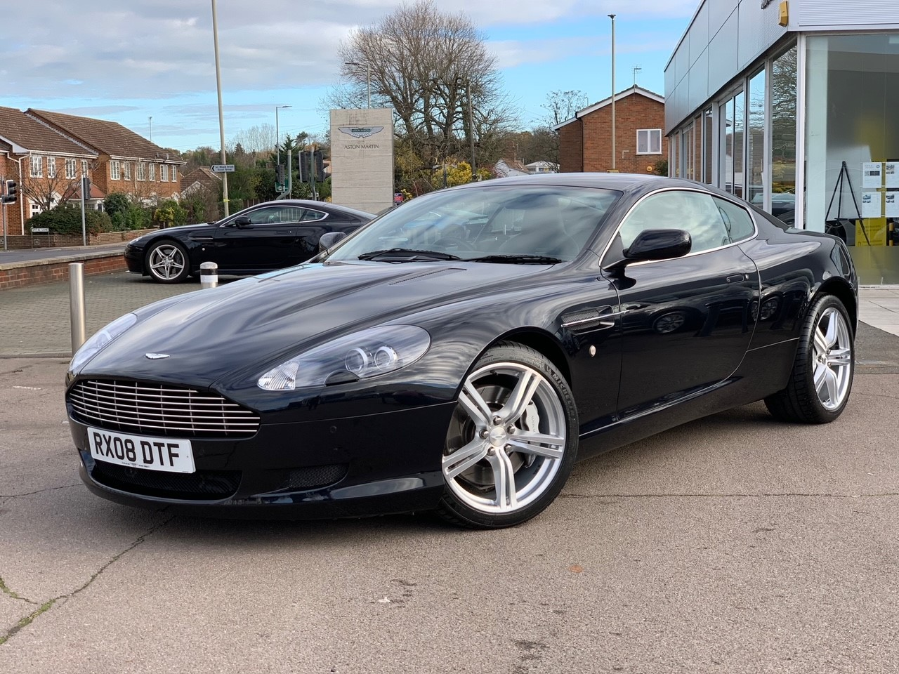 Aston Martin DB9 V12 2dr Touchtronic 5.9 Automatic Coupe (2008)