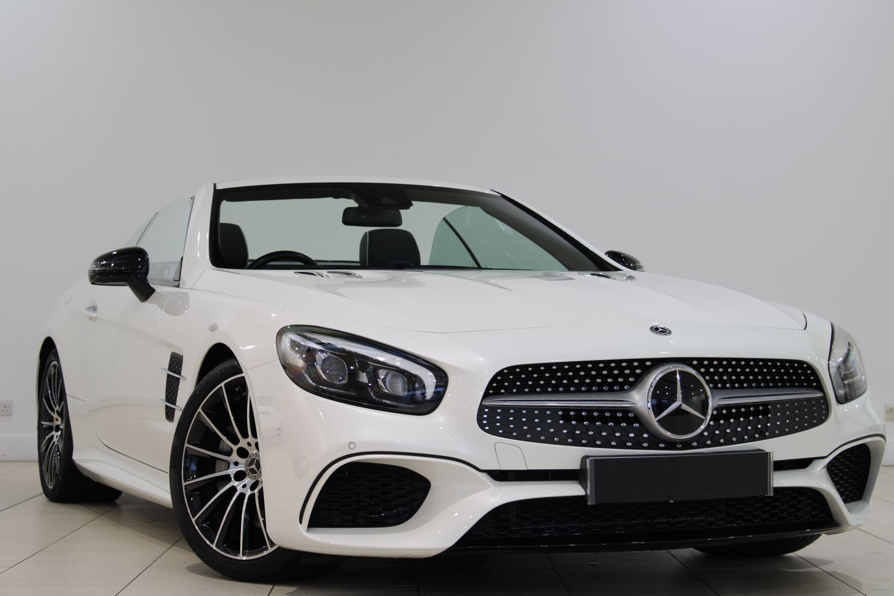 Mercedes-Benz SL-Class SL 400 AMG Line 2dr 9G-Tronic 3.0 Automatic Convertible (2017)
