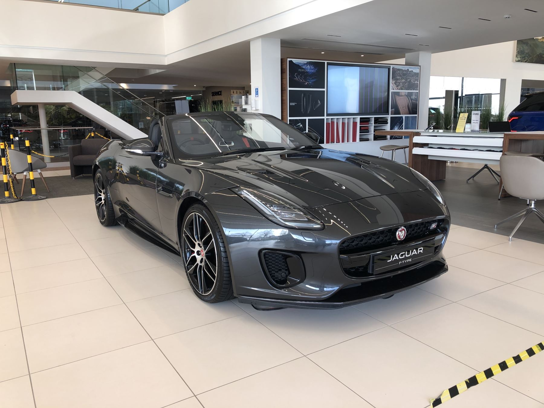 Jaguar F-TYPE 3.0 [380] S/C V6 Chequered Flag 2dr AWD Automatic Convertible (2020)
