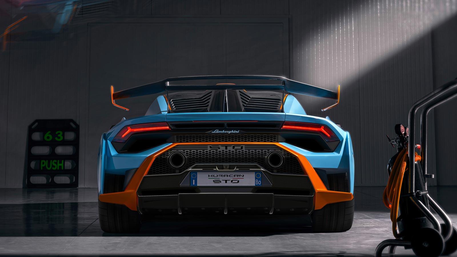 Lamborghini Huracan STO - From racetrack to road image 5