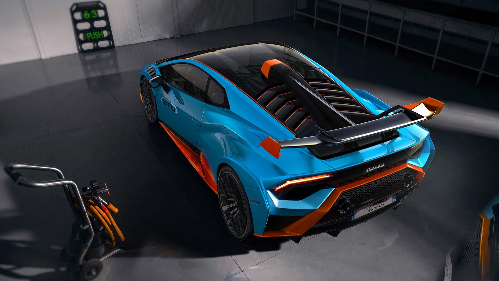 Lamborghini Huracan STO - From racetrack to road image 7
