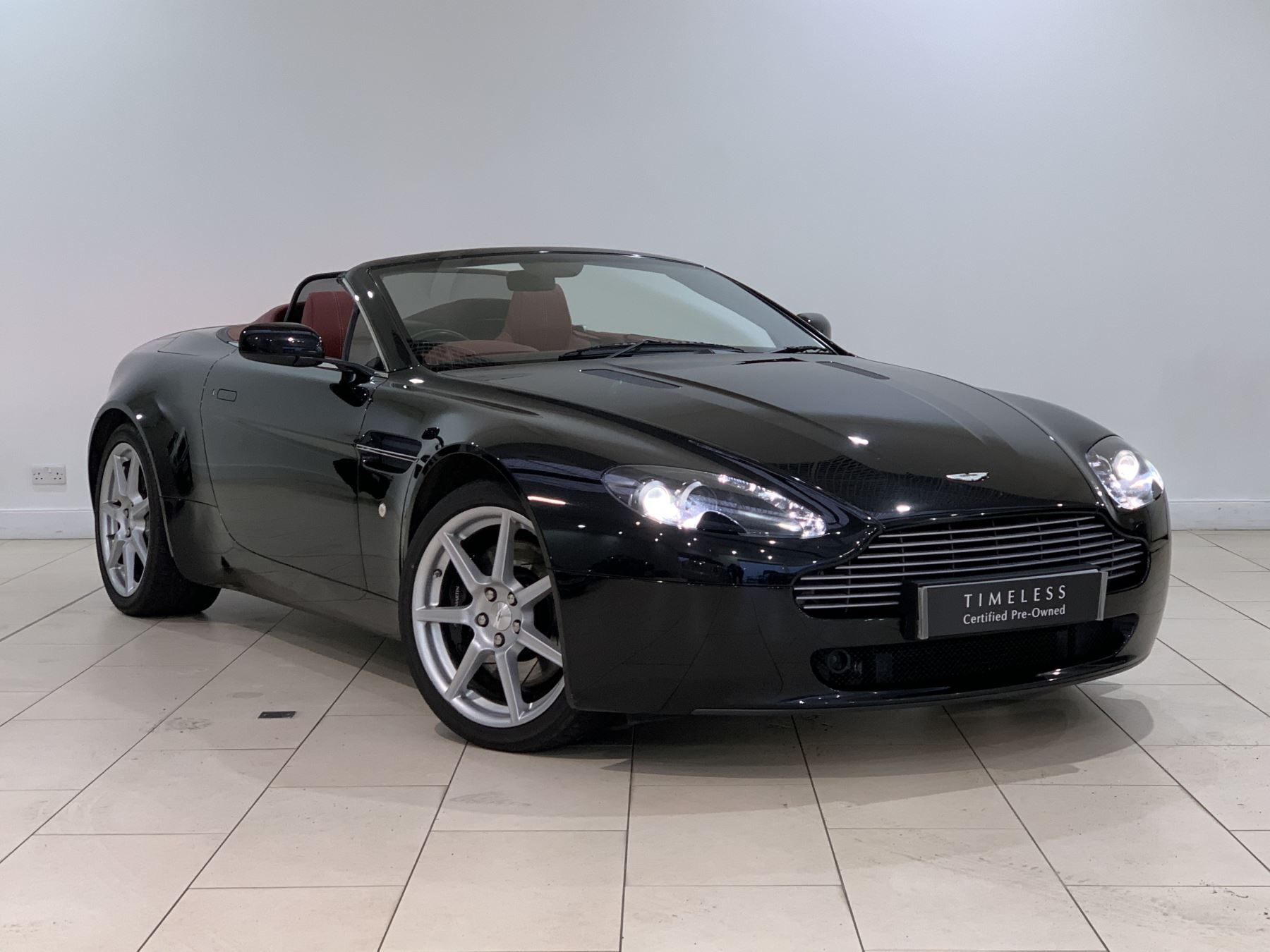 Aston Martin V8 Vantage Roadster 2dr Sportshift 4 3 Automatic Roadster 2007 At Aston Martin Edinburgh