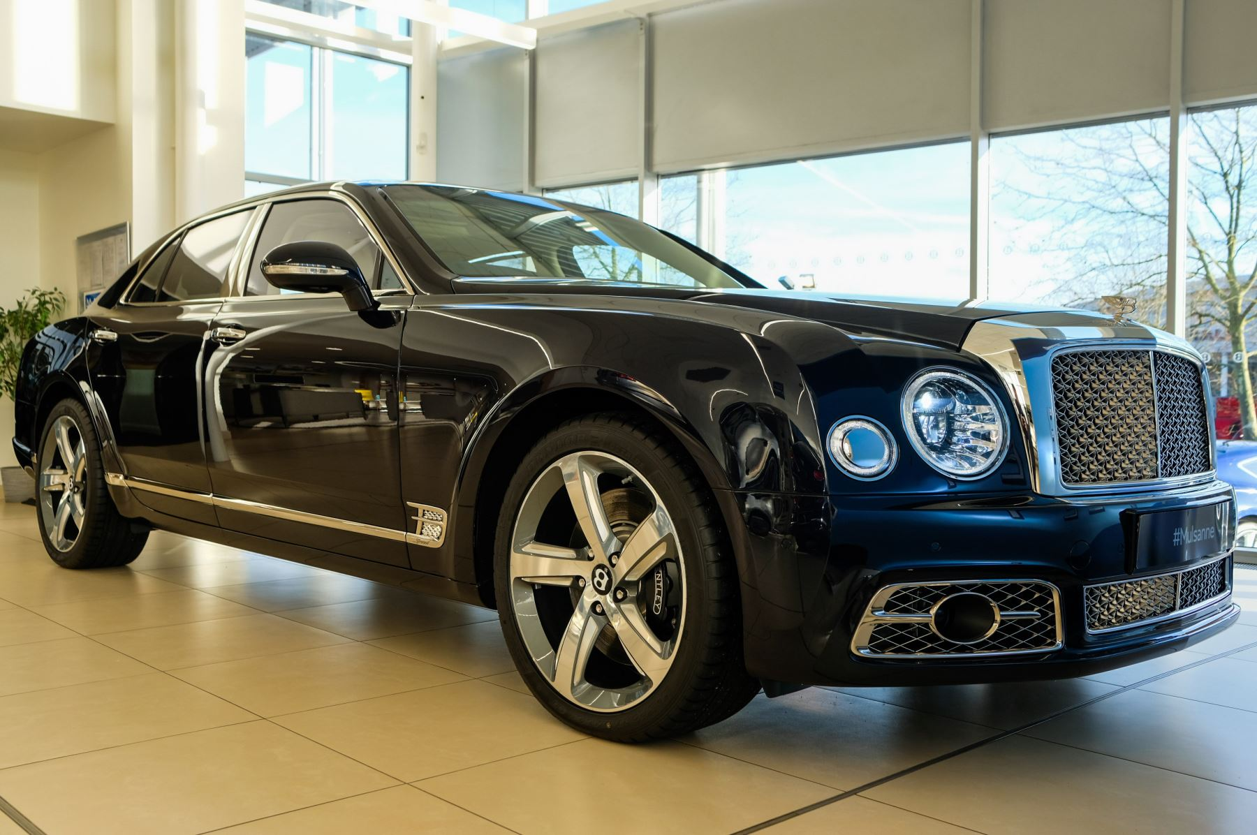 Bentley Mulsanne Speed 6.8 V8 Speed - Speed Premier, Entertainment and Comfort Specification Automatic 4 door Saloon (2020)
