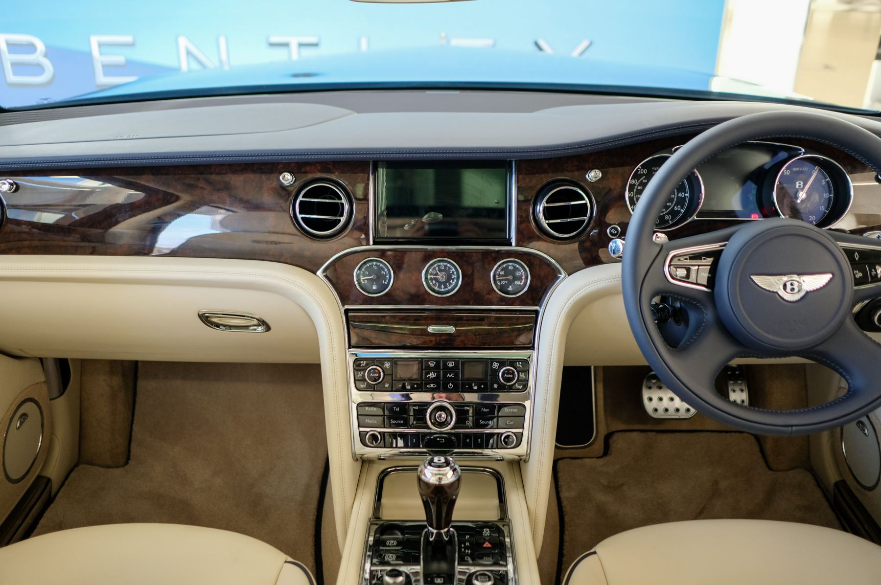 Bentley Mulsanne Speed 6.8 V8 Speed - Speed Premier, Entertainment and Comfort Specification image 14