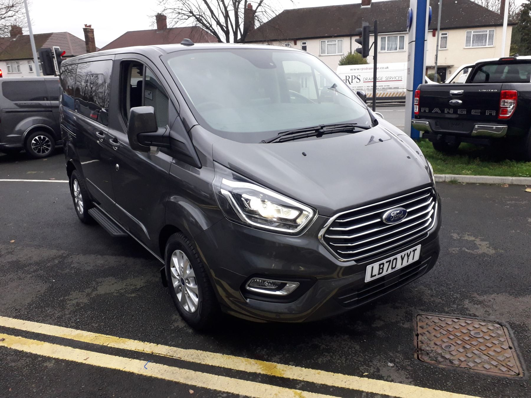Ford Tourneo Custom PHEV 320 L1 Titanium Plug-In Hybrid 1.0 Petrol/Electric Automatic 5 door MPV (2020)