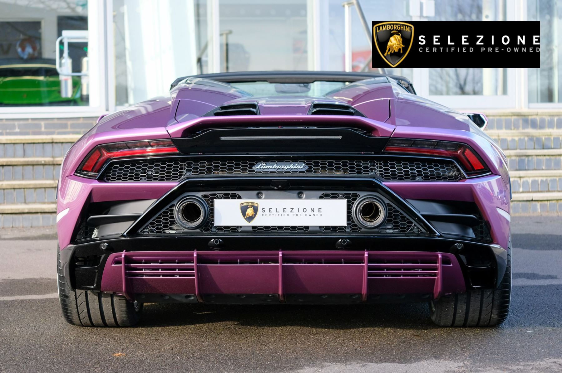 Lamborghini Huracan EVO Spyder 5.2 V10 640 2dr Auto AWD image 4