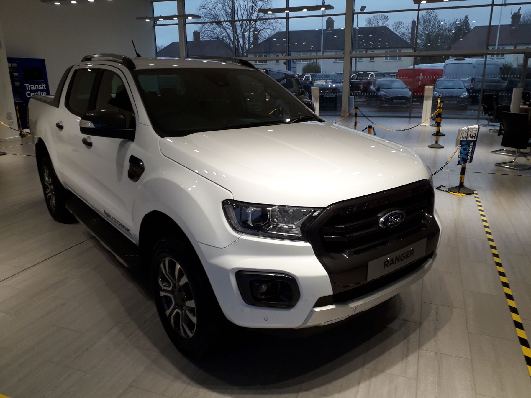 Ford Ranger Wildtrak 2.0 213PS 10SP Auto PLUS VAT Diesel Automatic 4 door (2021)