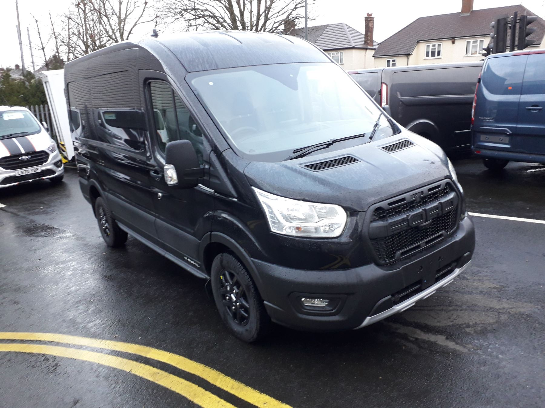 Ford Transit 350 L2H2 Trail 170PS FWD Manual PLUS VAT 2.0 Diesel 4 door (2021)