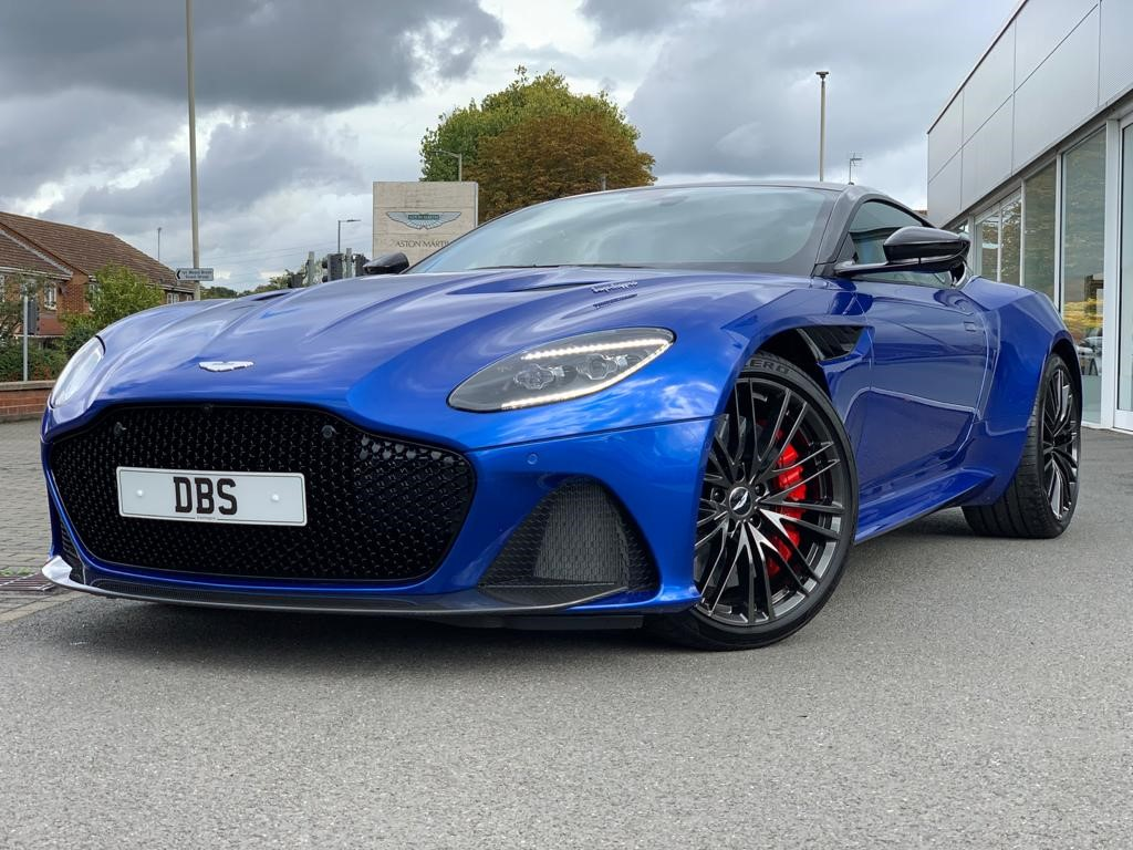 Aston Martin DBS V12 Superleggera Touchtronic 5.2 Automatic 2 door Coupe