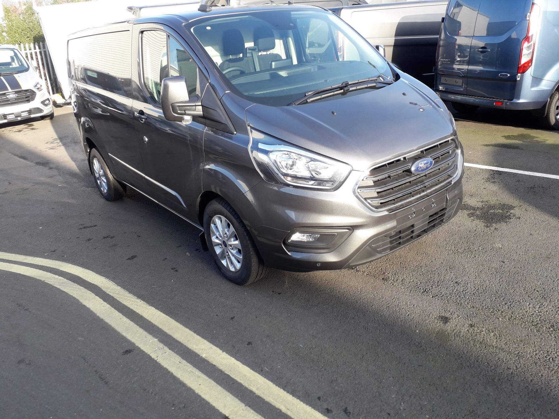 Ford Transit Custom 340 L1 Limited PHEV 1.0 Hybrid PLUS VAT Petrol/Electric Automatic 5 door (2021)