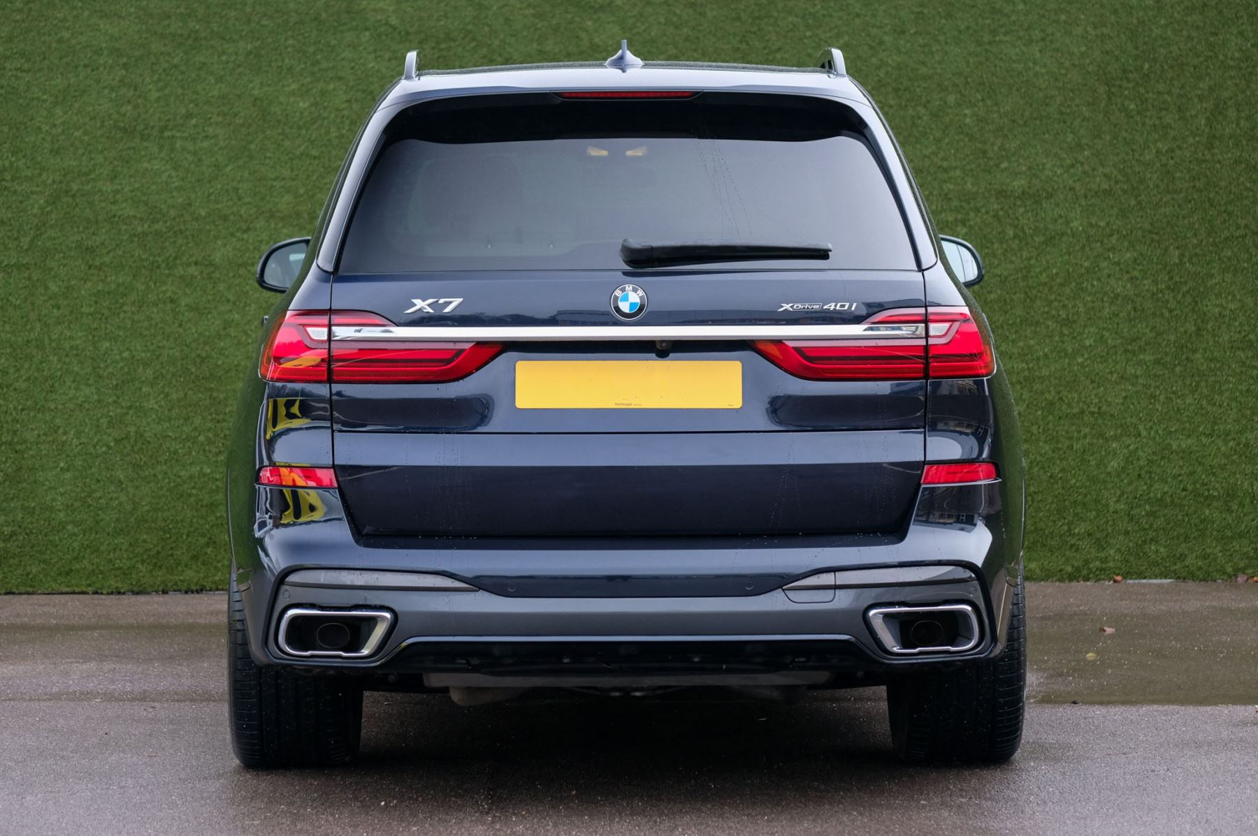 BMW X7 xDrive40i M Sport 5dr Step - Head up Display - M Sport exhaust system image 10