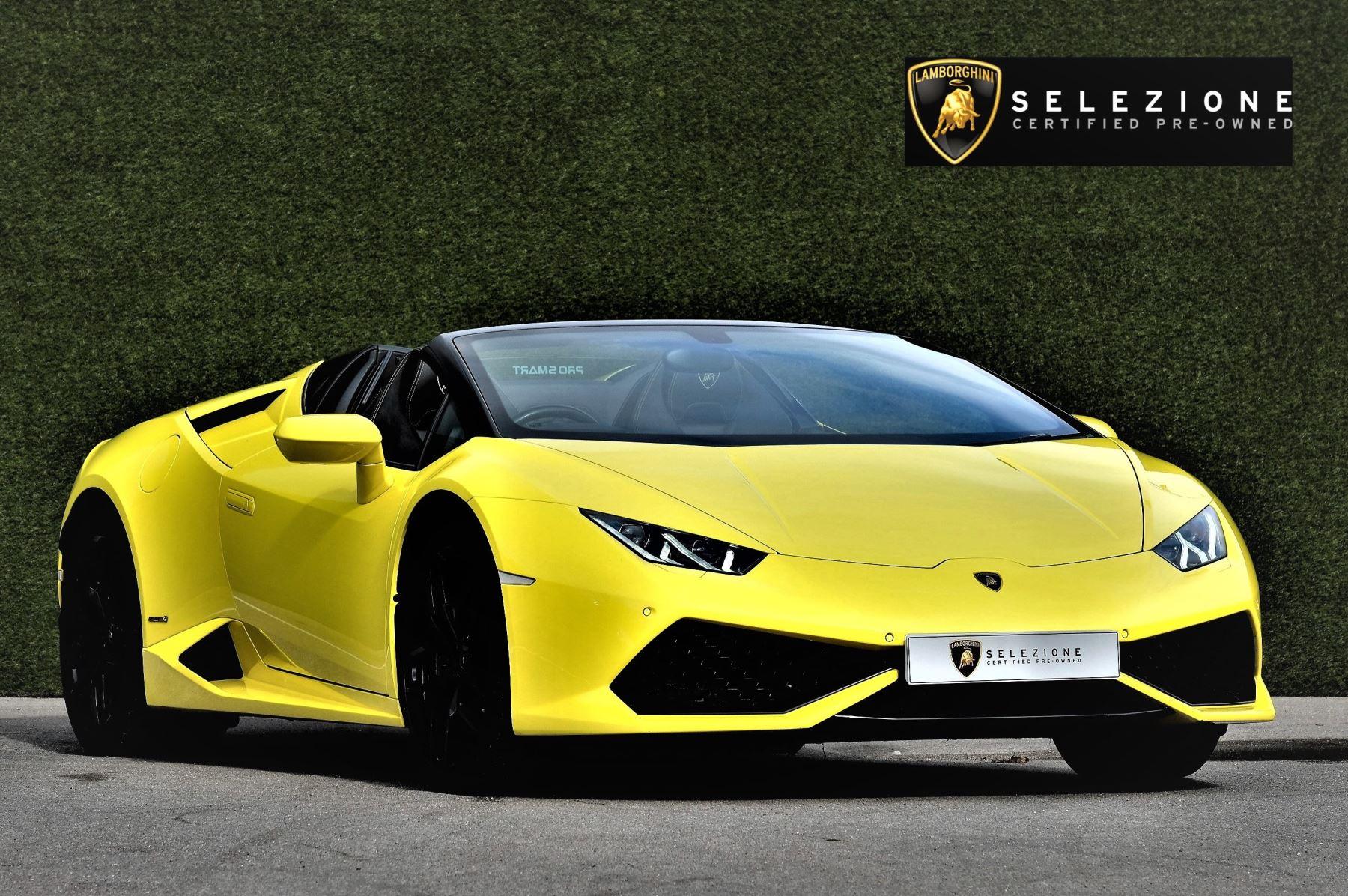 Lamborghini Huracan LP 610-4 2dr LDF 5.2 Automatic Convertible (2017)
