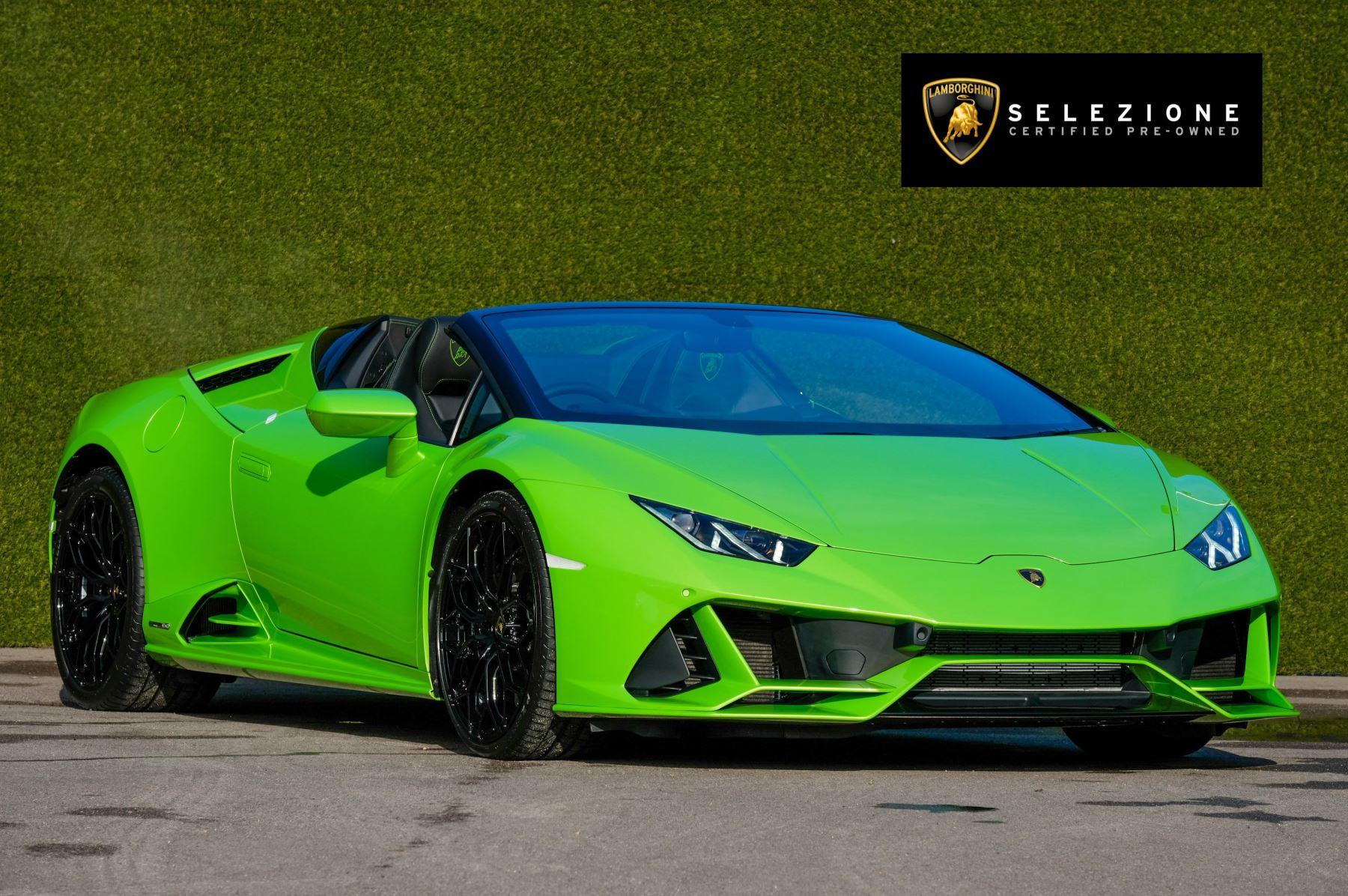 Lamborghini Huracan EVO Spyder 5.2 V10 610 2dr Auto Automatic Convertible (2021)