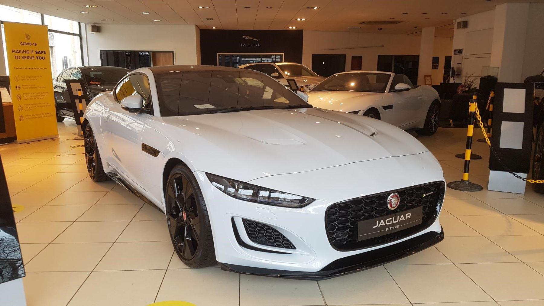Jaguar F-TYPE 2.0 P300 R-Dynamic Automatic 2 door Coupe