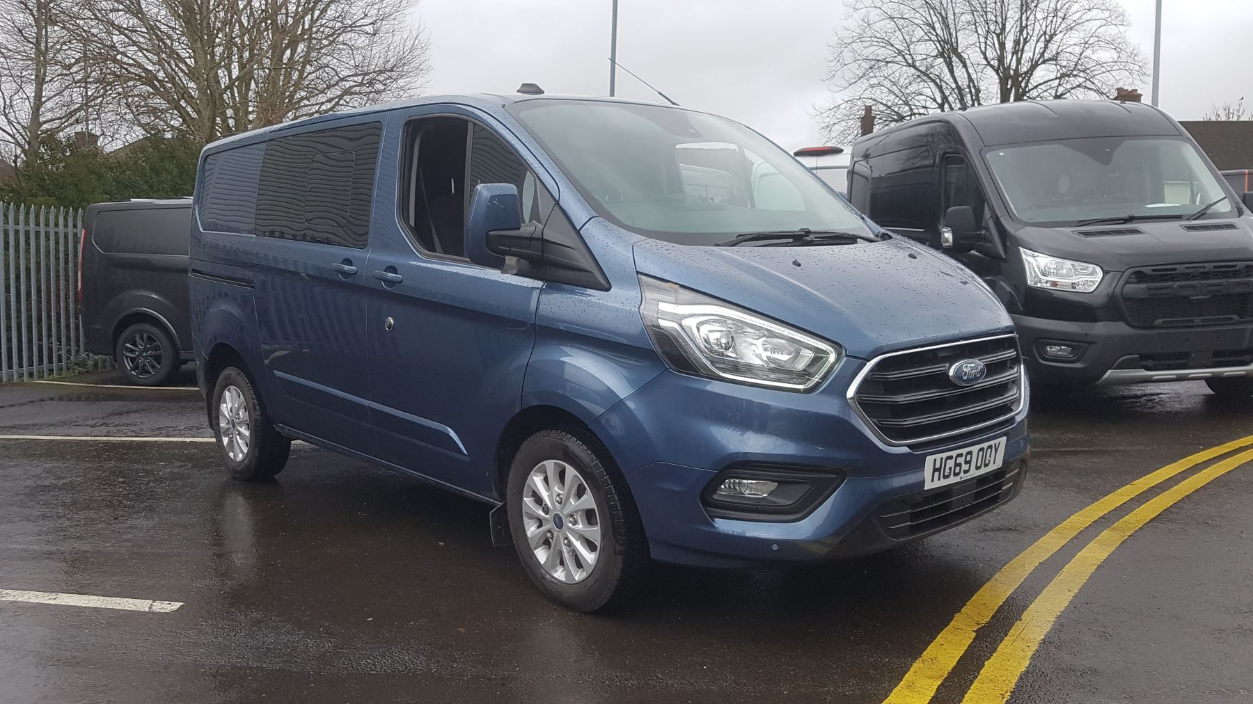 Ford Transit Custom Double Cab 300L1 Limited PLUS VAT 2.0 Diesel 6 door (2019)
