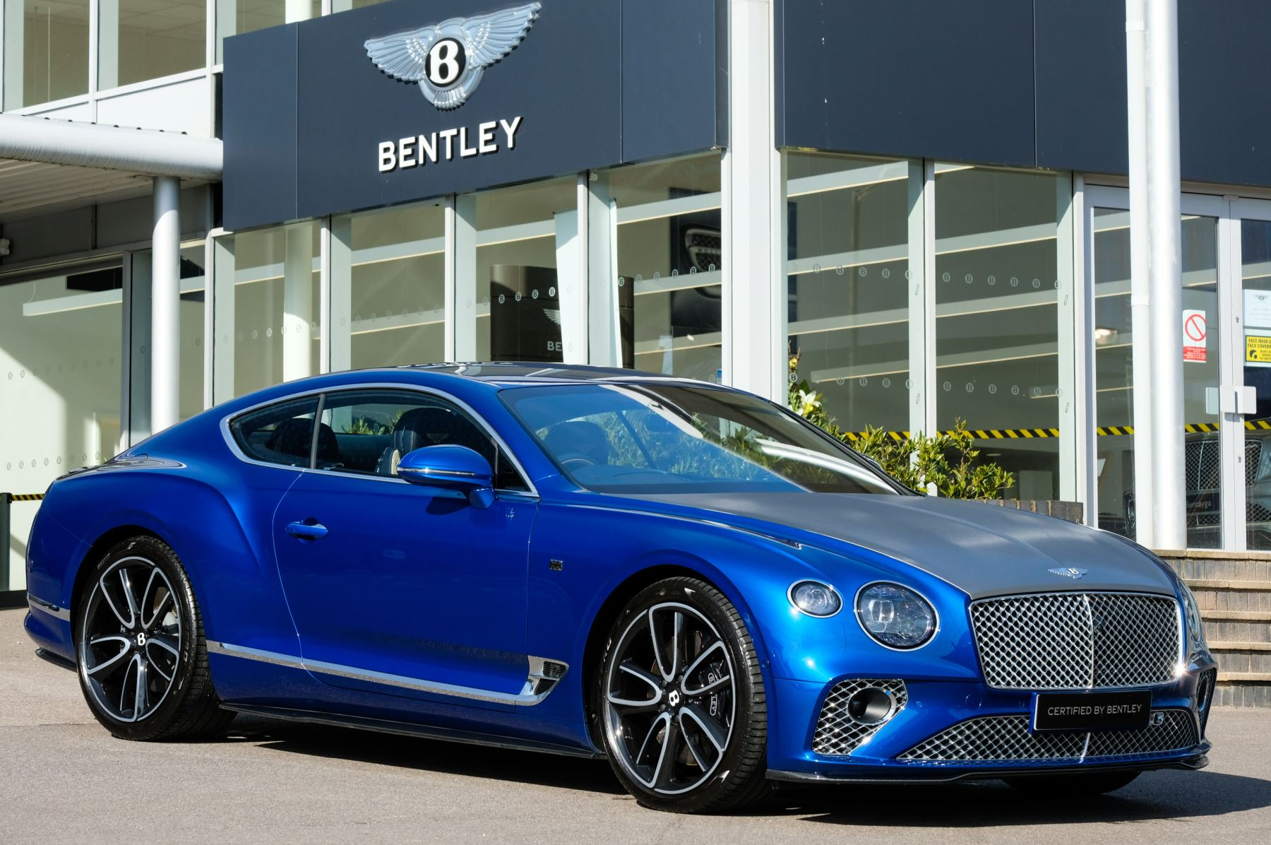 Bentley Continental GT 6.0 W12 - First Edition Specification Automatic 2 door Coupe (2018)