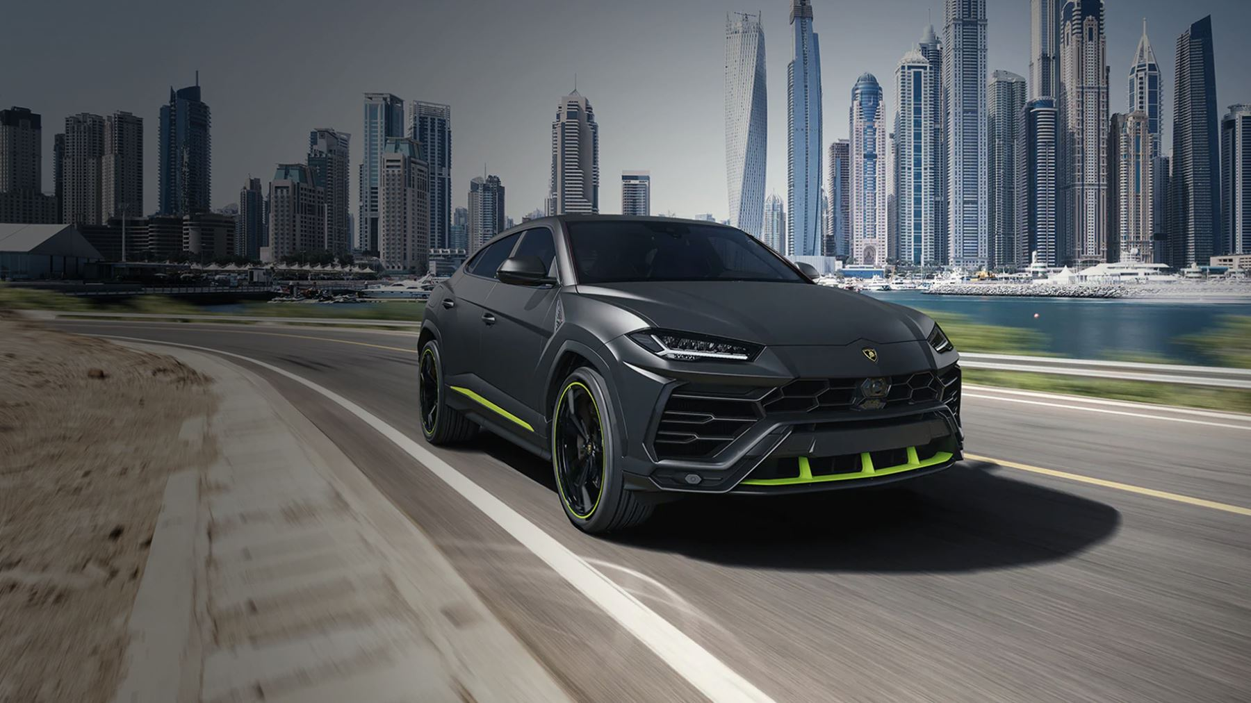 Lamborghini Urus Graphite Capsule - Unlock any road