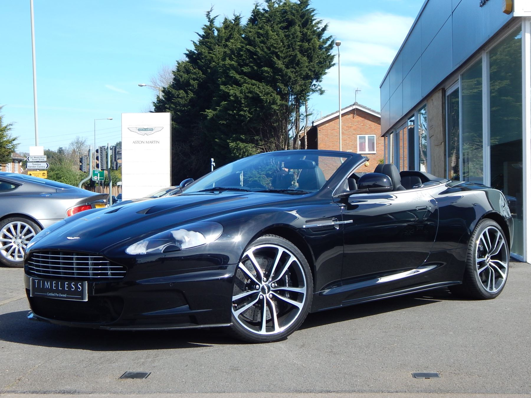 Aston Martin DBS V12 2dr Volante Touchtronic 5.9 Automatic Convertible