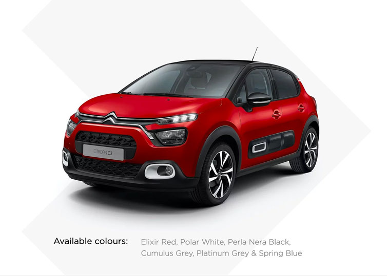 New Citroen C3 - Exclusive SOGO Leasing Offer