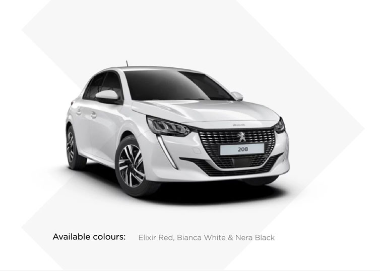 Peugeot 208 - Exclusive SOGO Leasing Offer