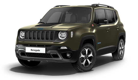 Jeep Renegade 4xe 1.3 Turbo 4xe PHEV 240 Trailhawk 5dr Auto