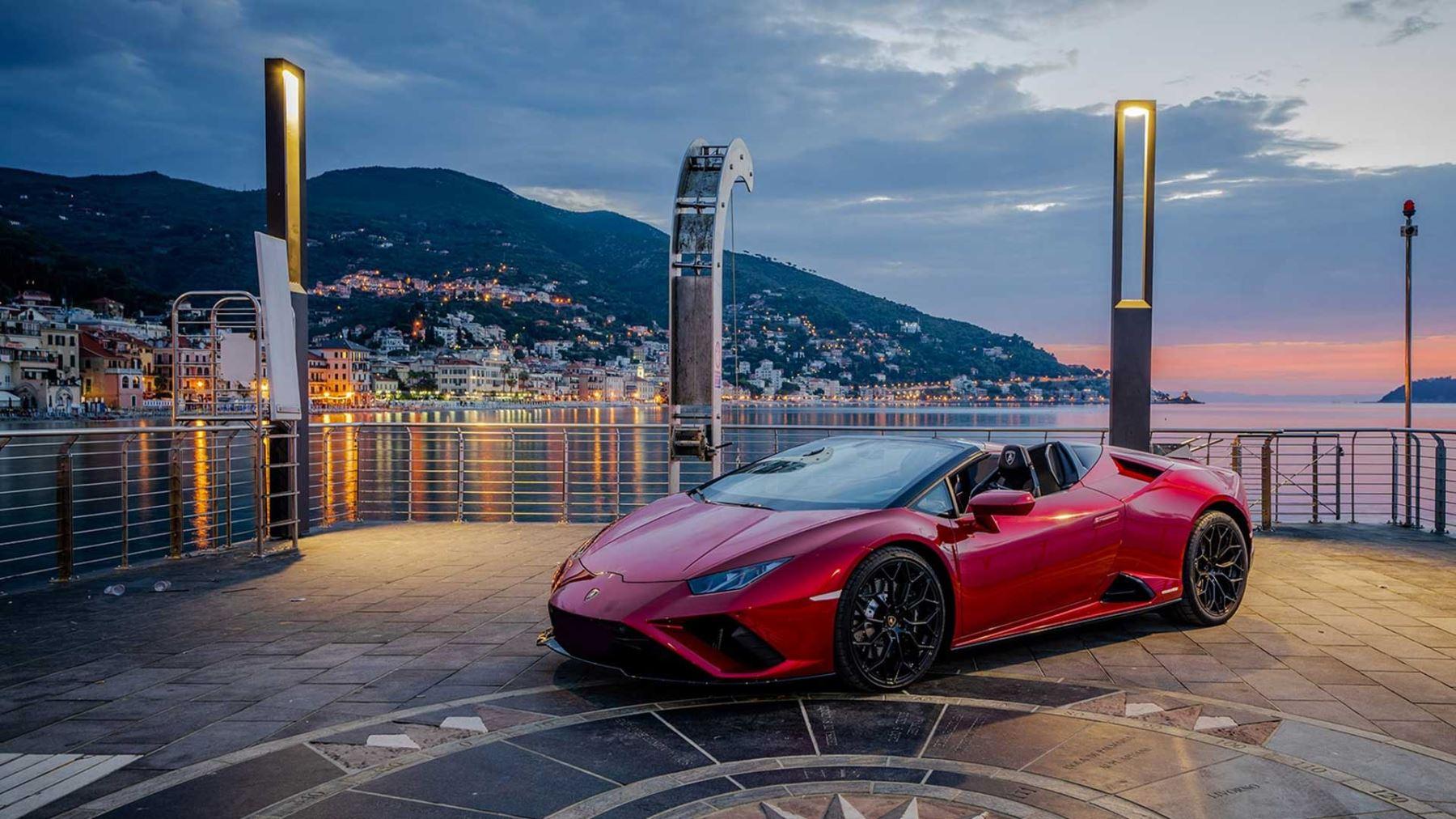 Lamborghini Huracan EVO RWD Spyder - Rewind to rear-wheel drive
