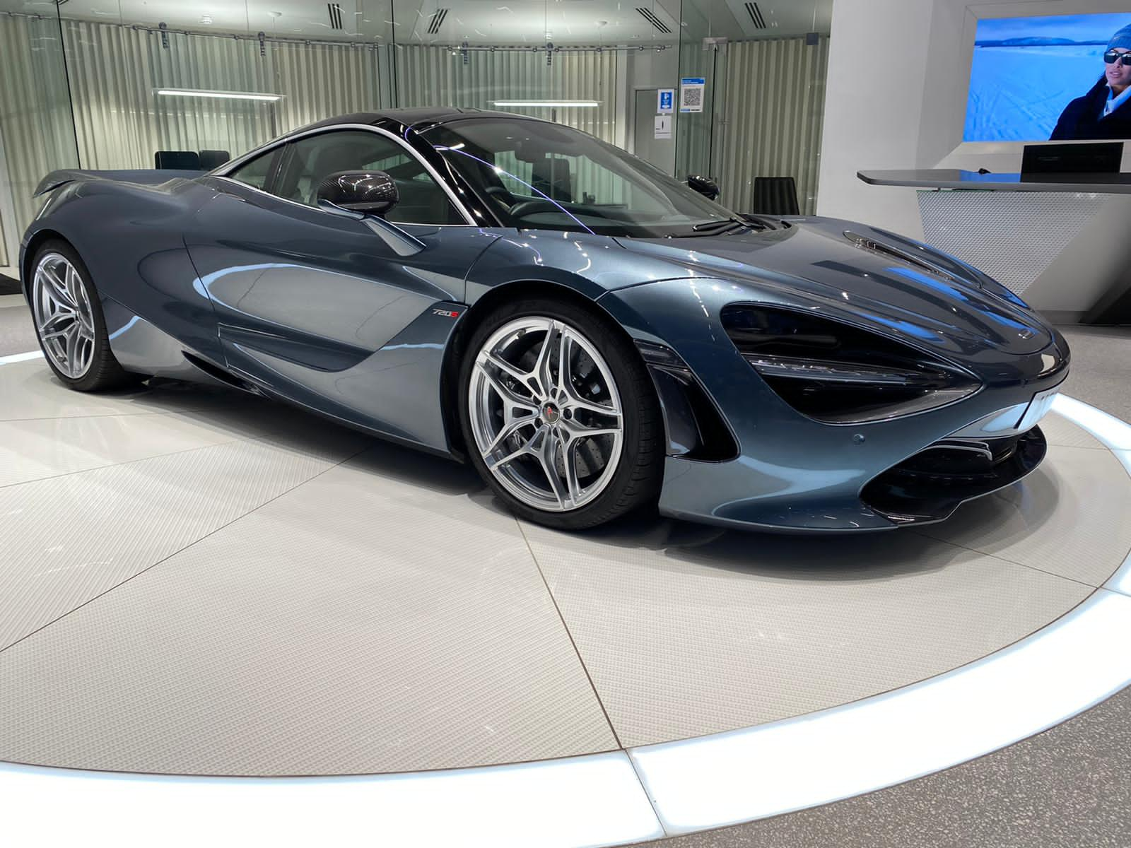 McLaren 720S V8 2dr SSG LUXURY 4.0 Automatic Coupe (2018)