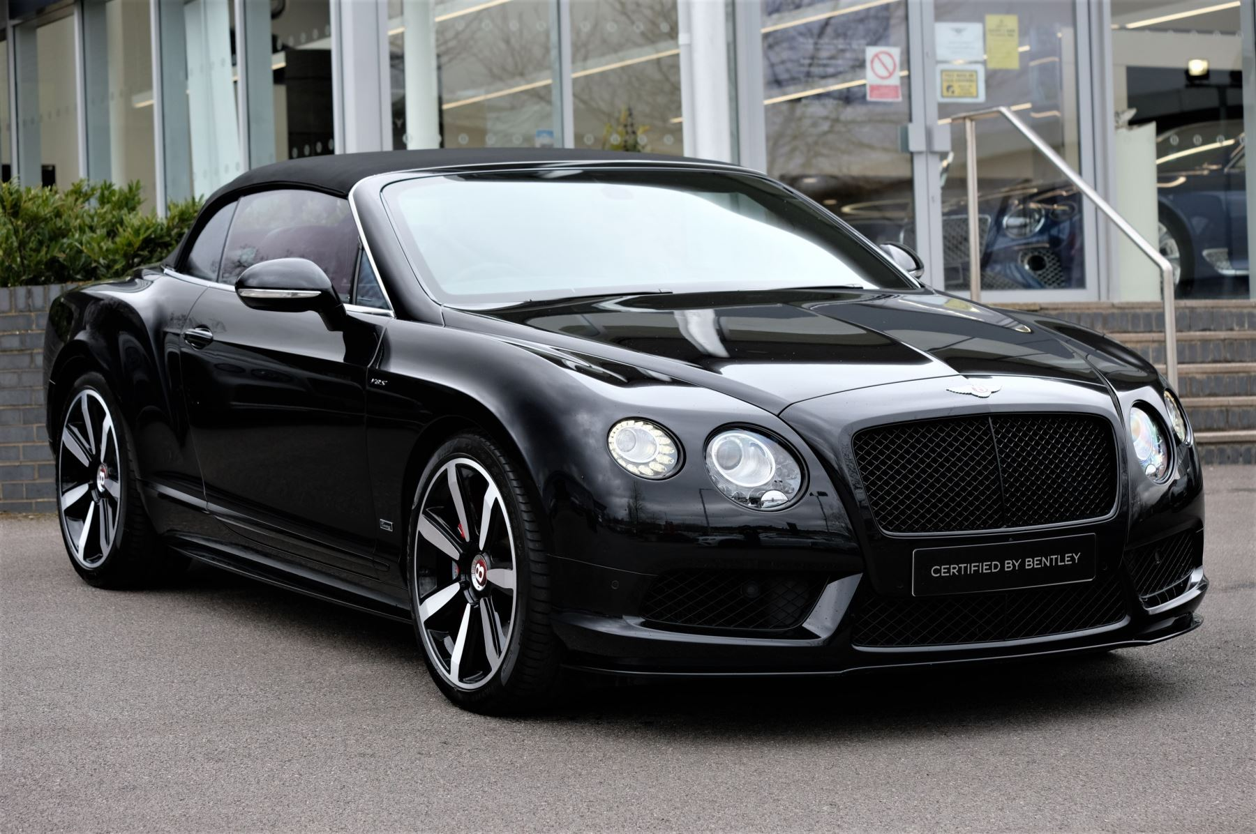 Bentley Continental GT V8 S Convertible Black Edition 4.0 V8 S 2dr - Concours Series  Automatic Convertible