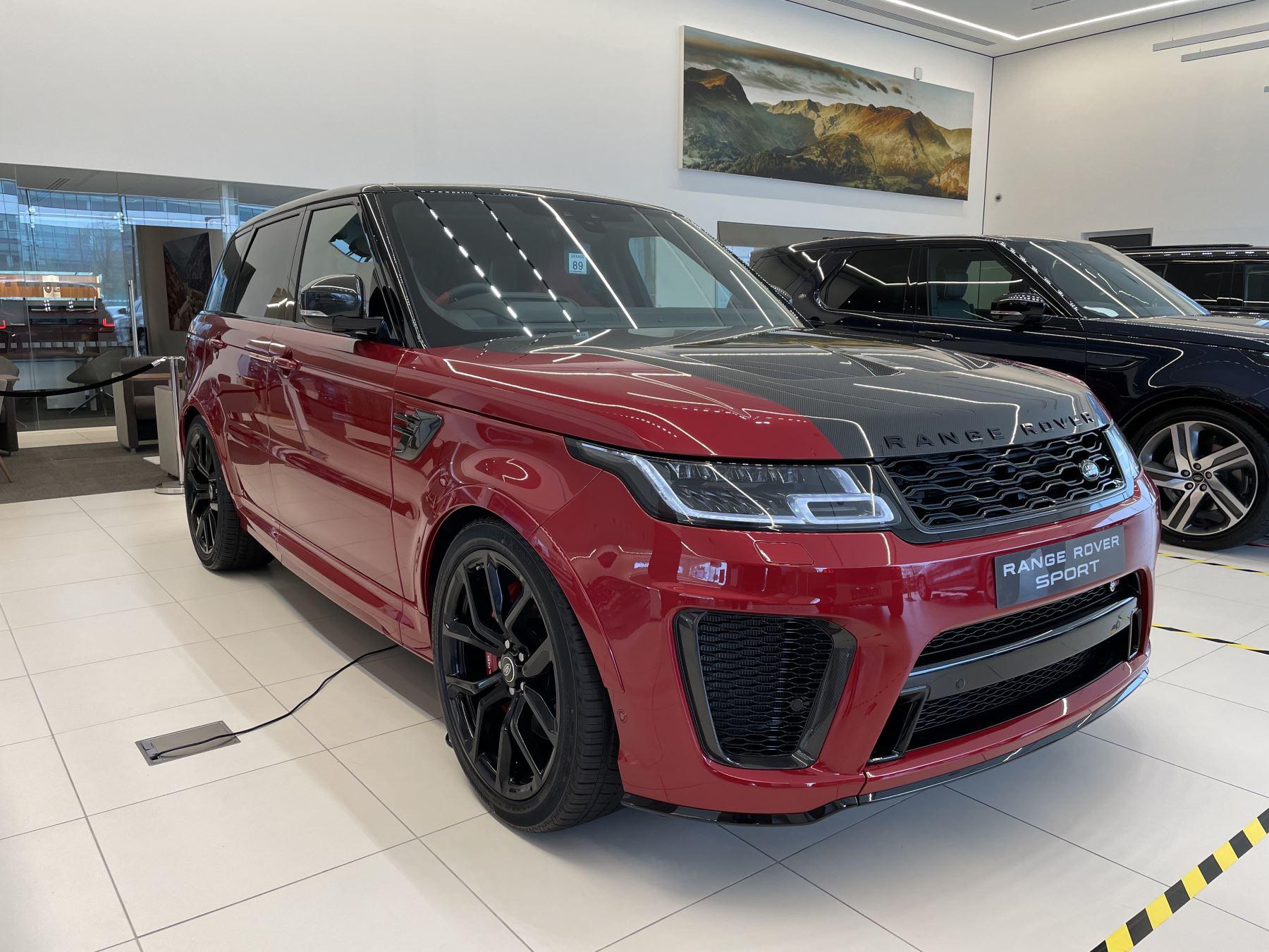 Land Rover Range Rover Sport 5.0 P575 S/C SVR Automatic 5 door 4x4 (21MY)