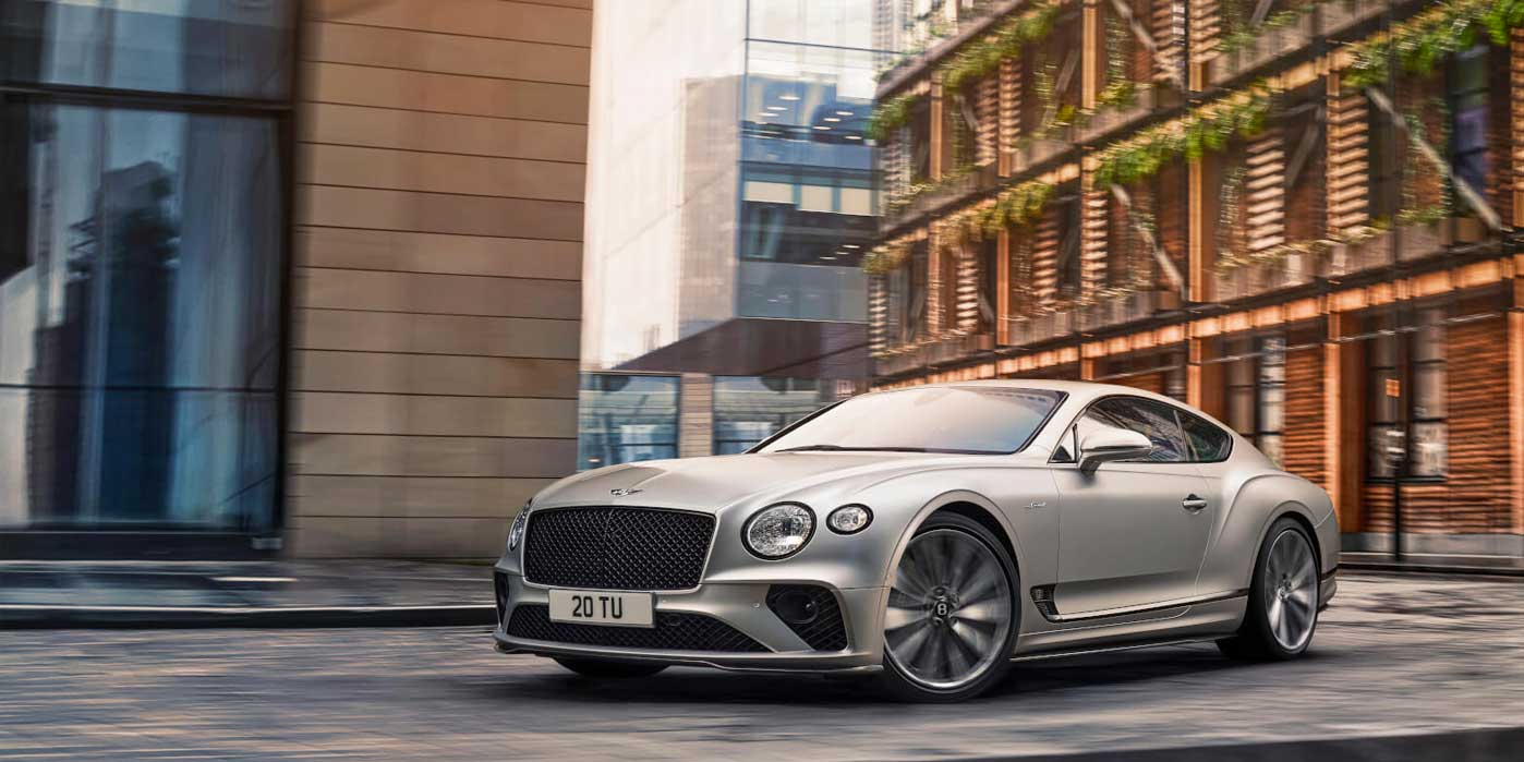 Bentley Continental GT Speed - Switch to thrill mode