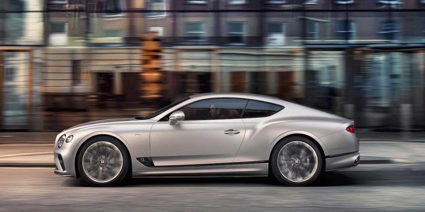 Bentley Continental GT Speed - Switch to thrill mode image 6