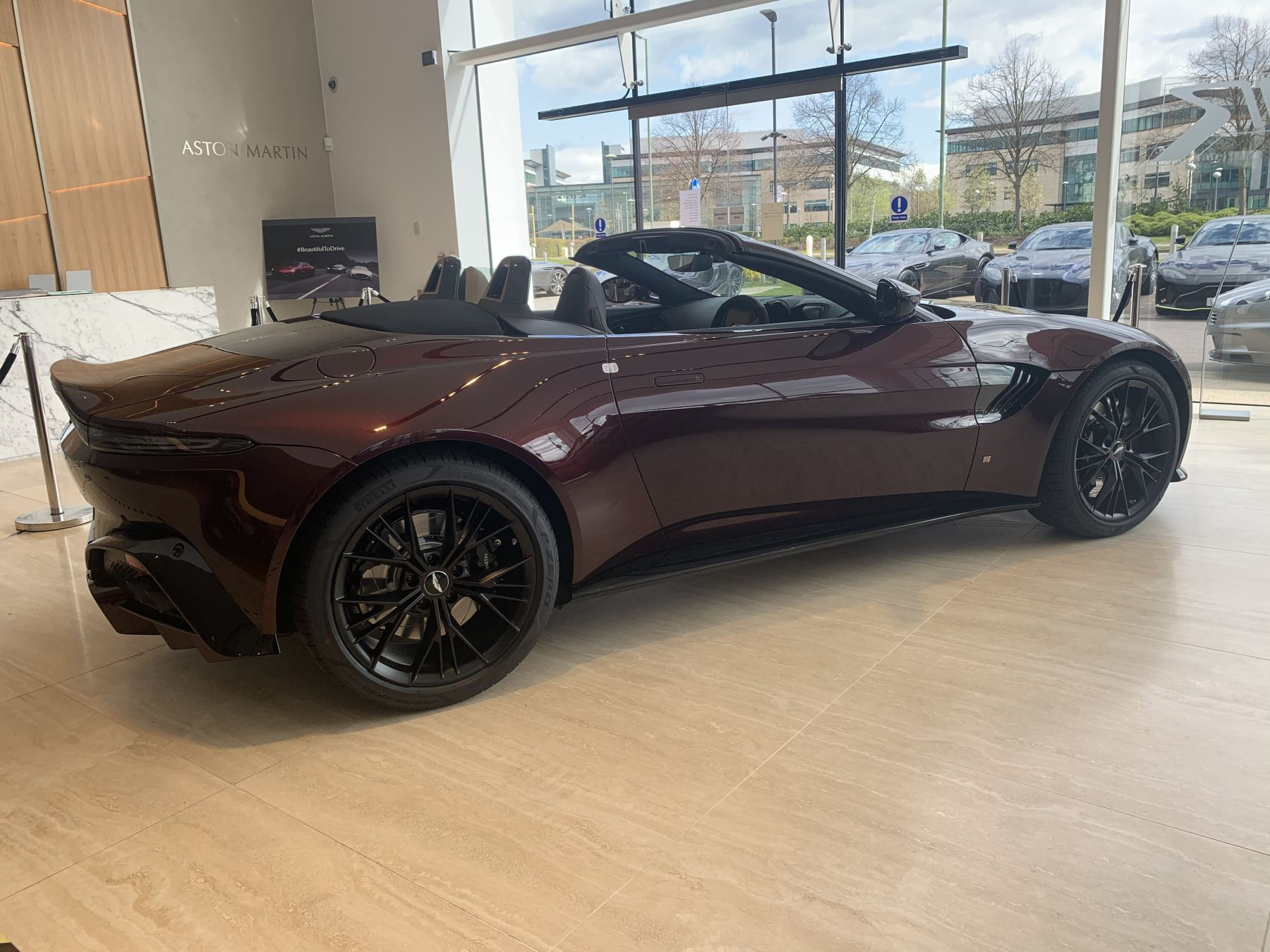 Aston Martin New Vantage Roadster Touchtronic 3 4.0 Automatic 2 door Roadster