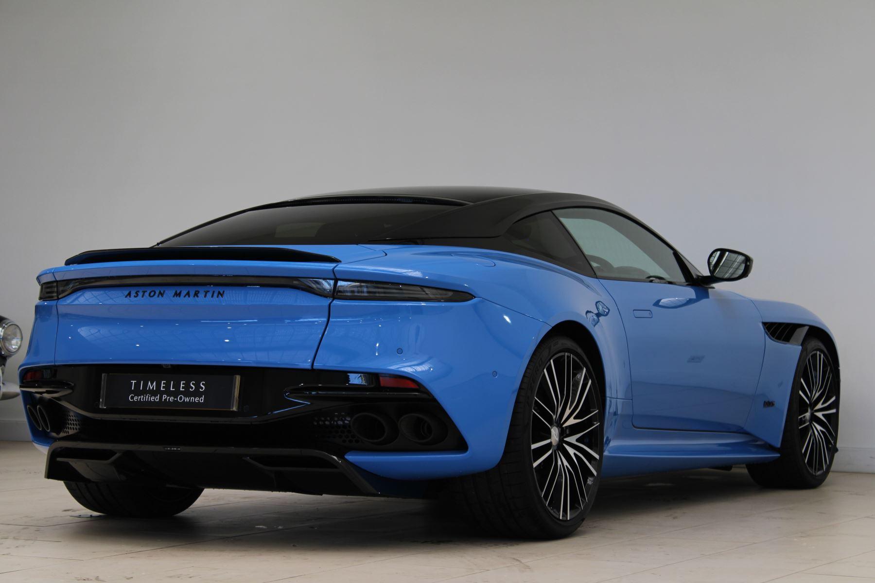 Aston Martin DBS V12 Superleggera Touchtronic Special Ceramic Blue - B&O image 7