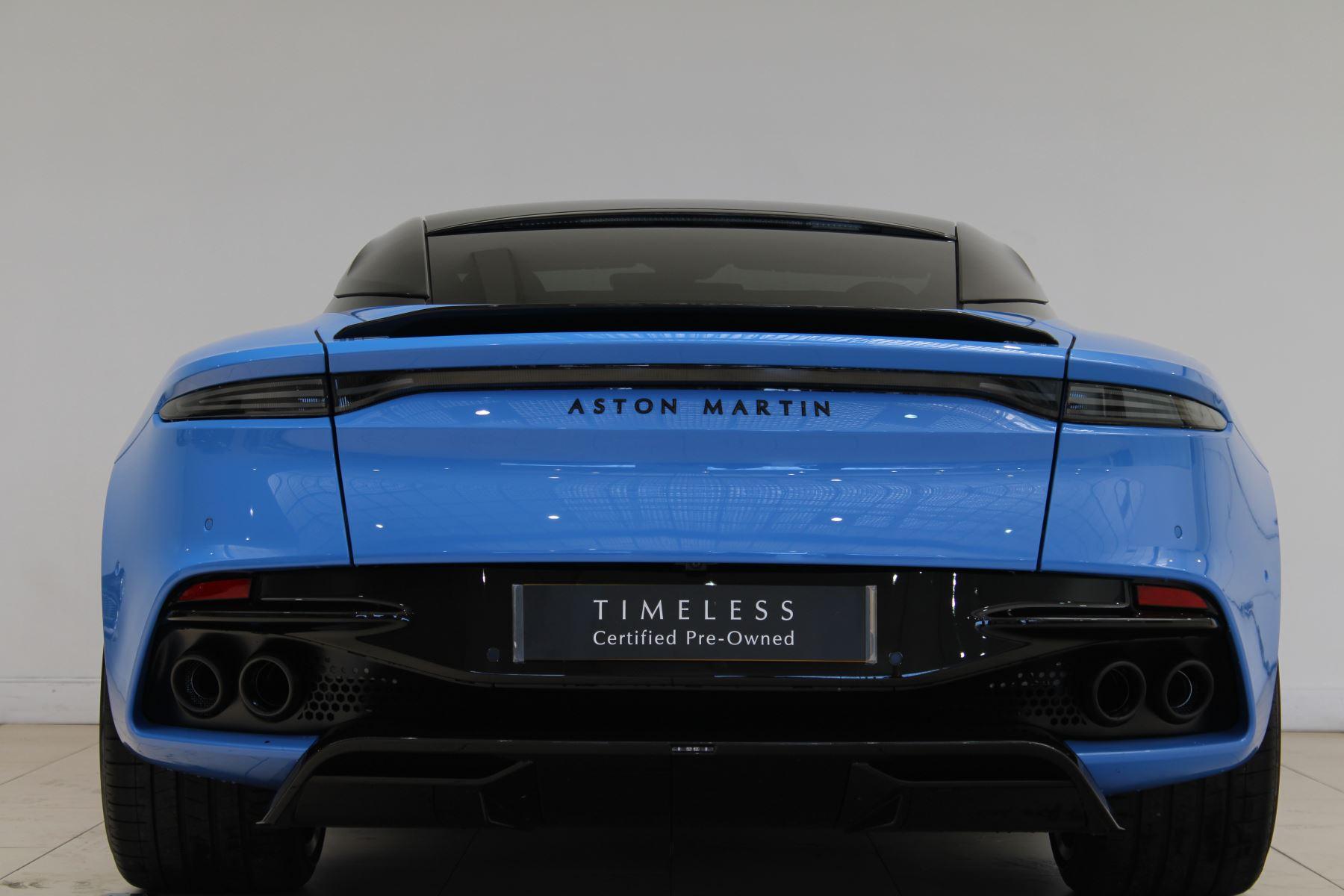 Aston Martin DBS V12 Superleggera Touchtronic Special Ceramic Blue - B&O image 4