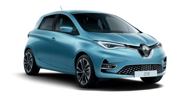 Renault ZOE 100kW Iconic R135 50kWh Rapid Charge 5dr Auto Electric Automatic Hatchback (2021)