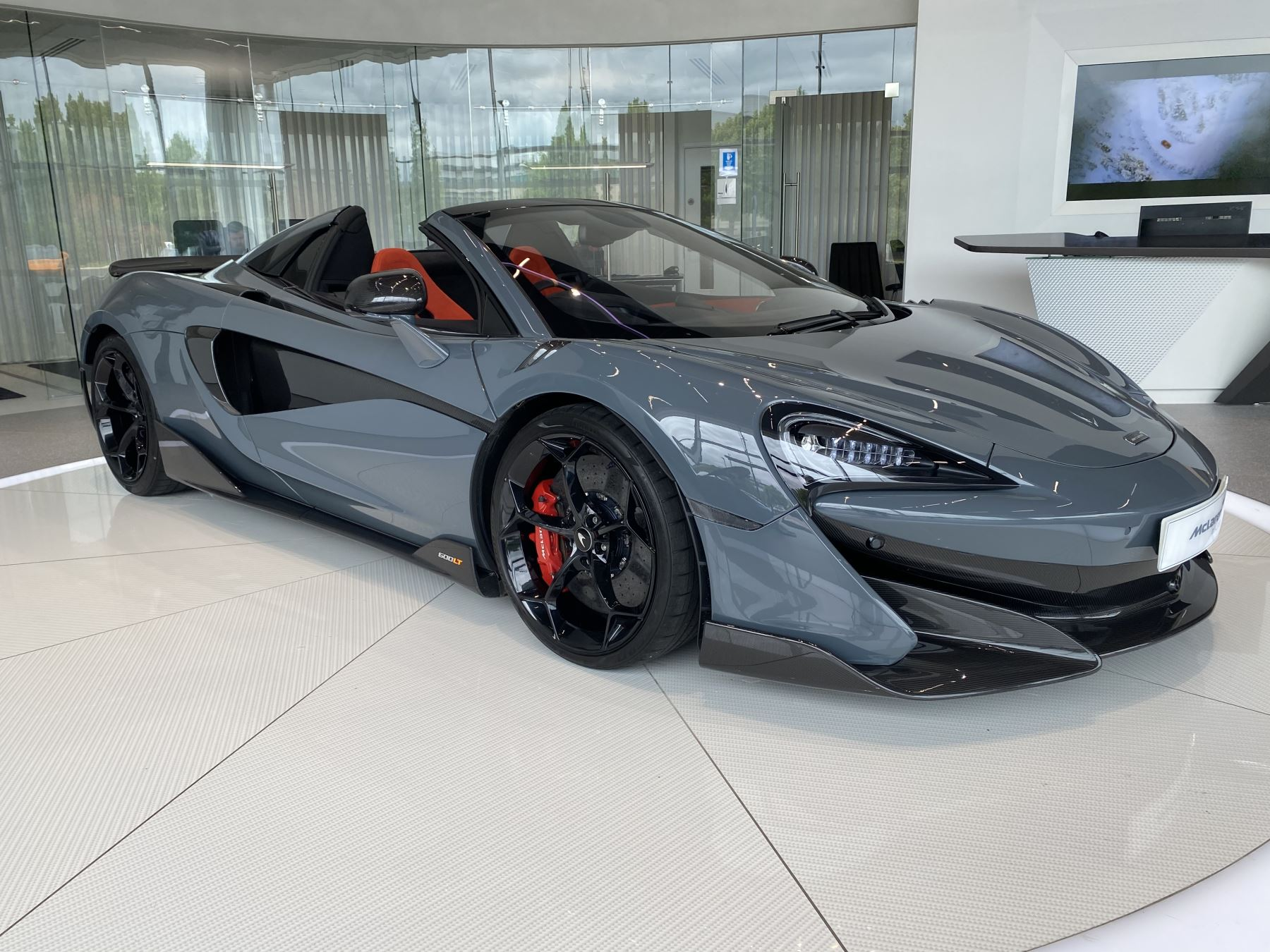 McLaren 600LT Spider V8 2dr SSG 3.8 Automatic Convertible