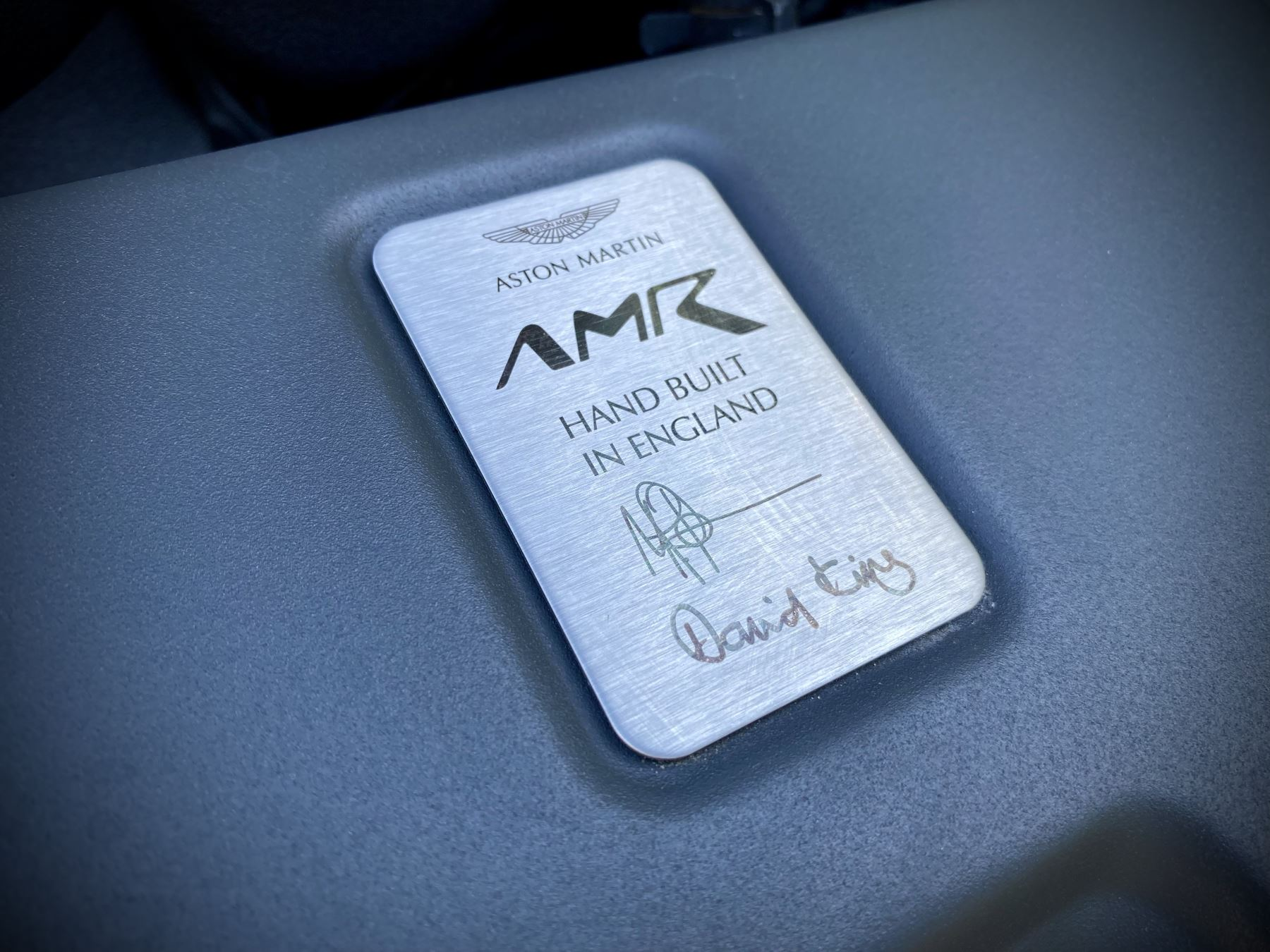 Aston Martin V12 Vantage AMR 6.0 V12 600BHP Manual 1 of 100.     1 Owner From New, Full Aston Martin History. image 17