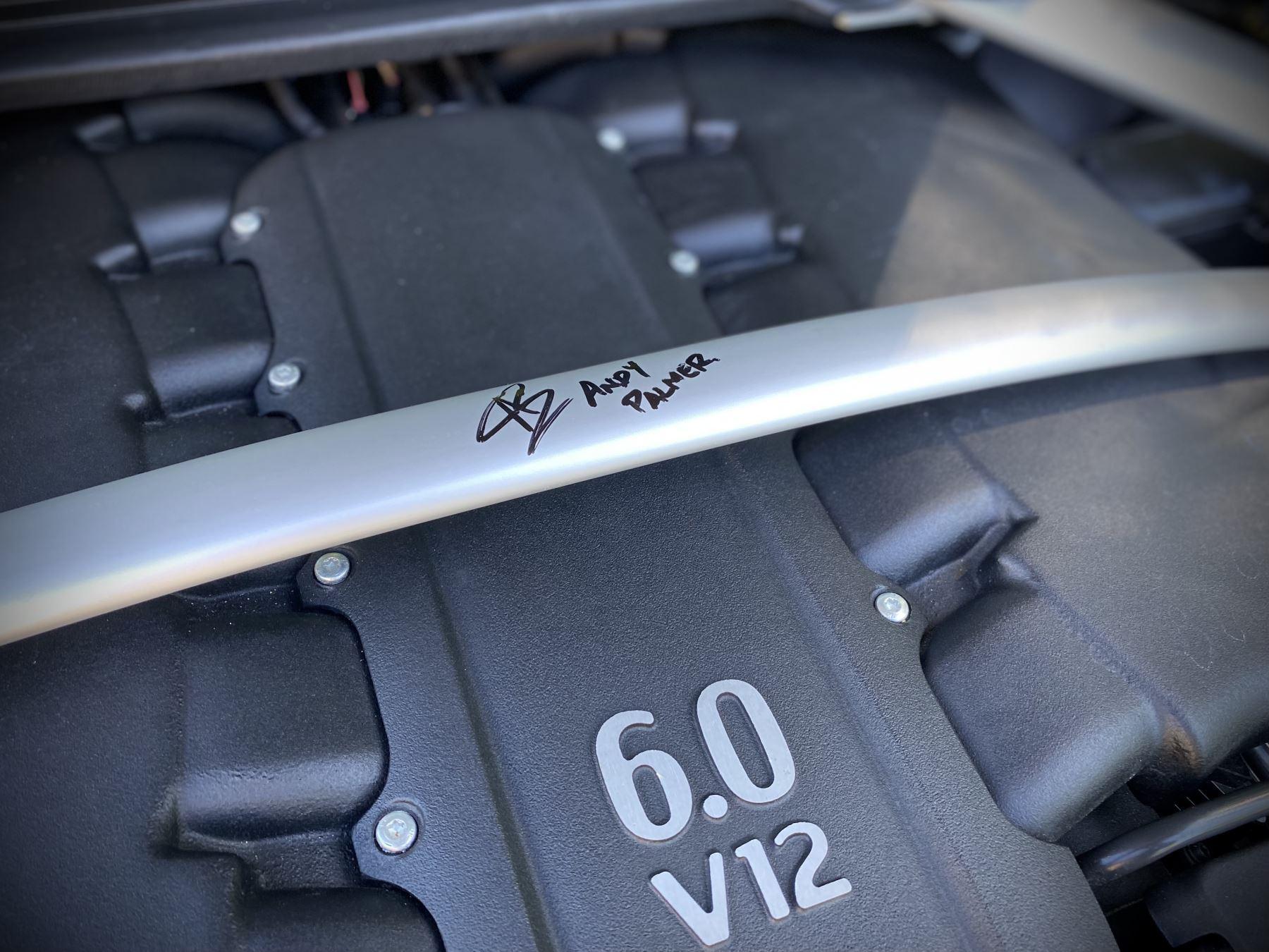 Aston Martin V12 Vantage AMR 6.0 V12 600BHP Manual 1 of 100.     1 Owner From New, Full Aston Martin History. image 15