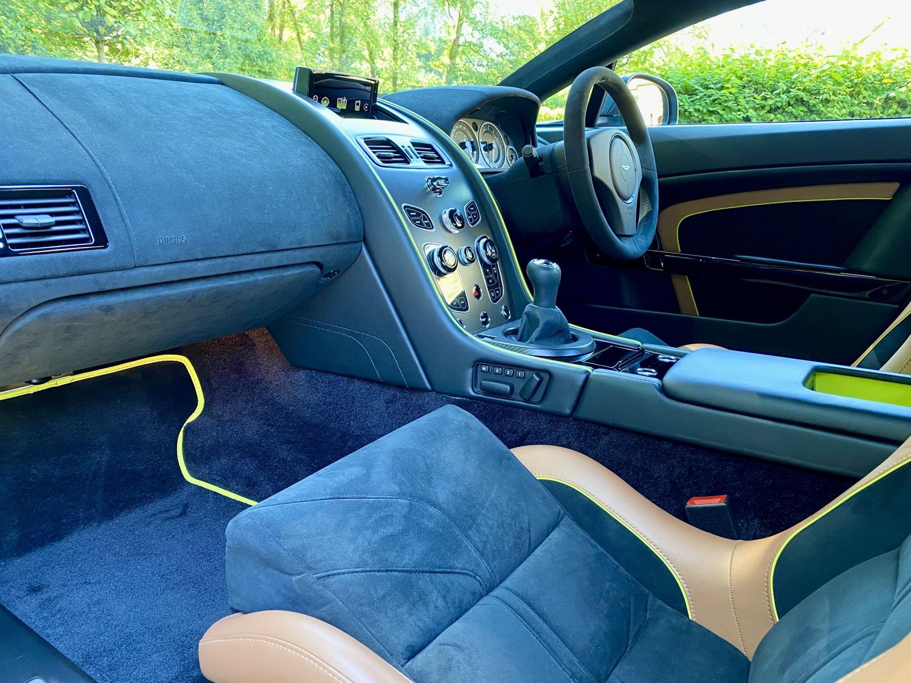 Aston Martin V12 Vantage AMR 6.0 V12 600BHP Manual 1 of 100.     1 Owner From New, Full Aston Martin History. image 25