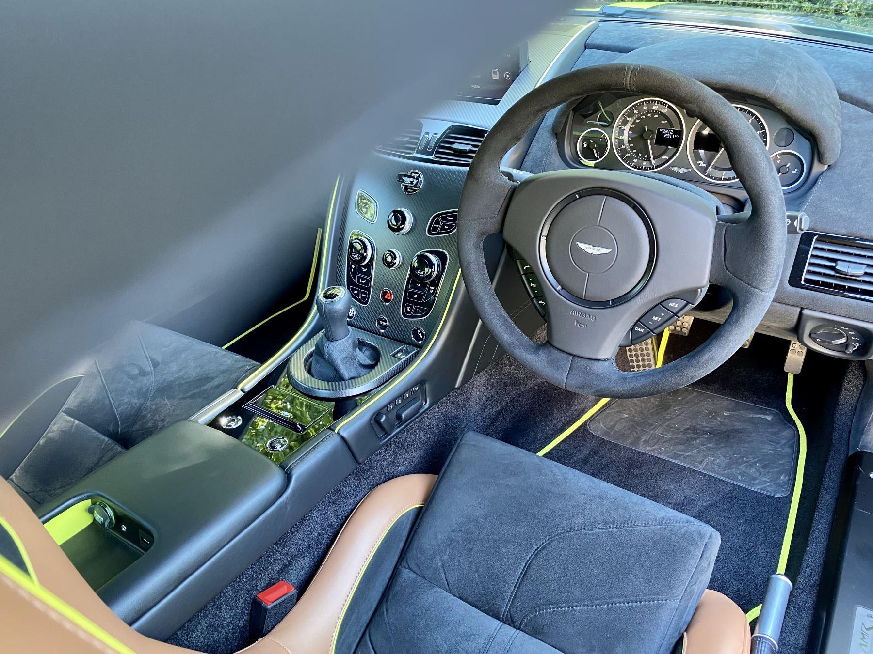 Aston Martin V12 Vantage AMR 6.0 V12 600BHP Manual 1 of 100.     1 Owner From New, Full Aston Martin History. image 21