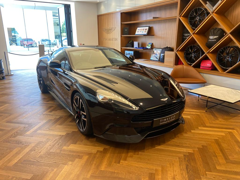 Aston Martin Vanquish V12 [568] 2+2 2dr Touchtronic 8 speed Carbon 17 Model Year Apple Car Play  image 2