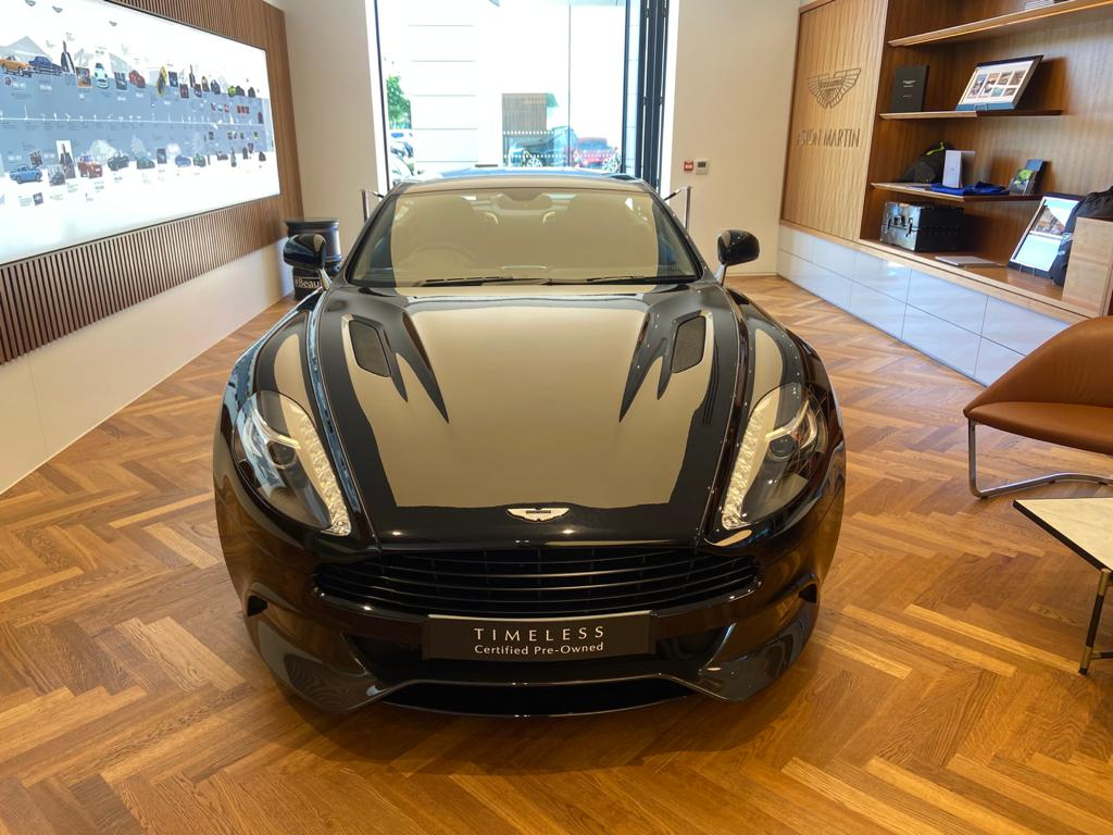 Aston Martin Vanquish V12 [568] 2+2 2dr Touchtronic 8 speed Carbon 17 Model Year Apple Car Play  image 1