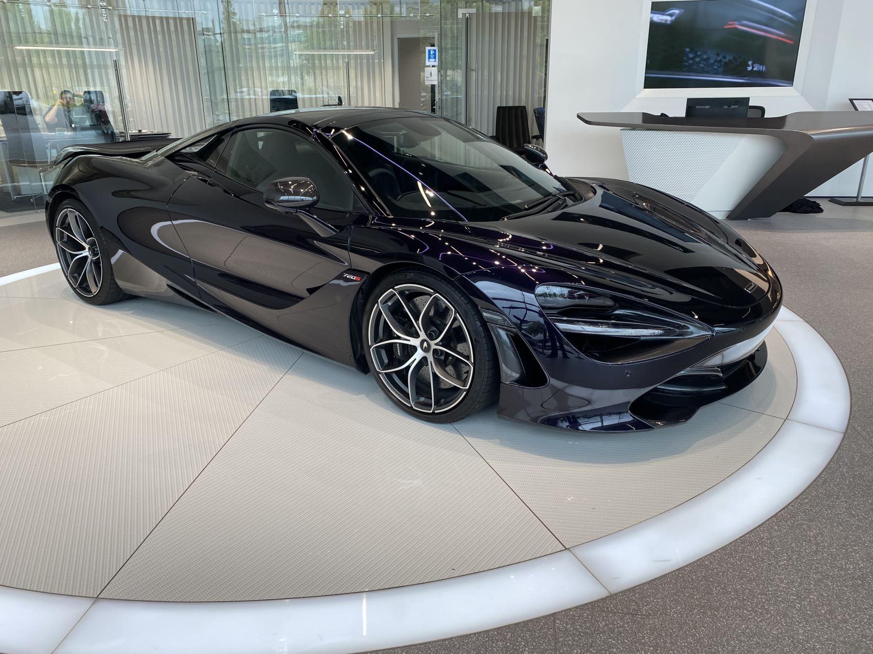 McLaren 720S Spider V8 2dr SSG  MSO PAINT SPOORTS EXHAUST SUPERB VALUE 4.0 Automatic Convertible