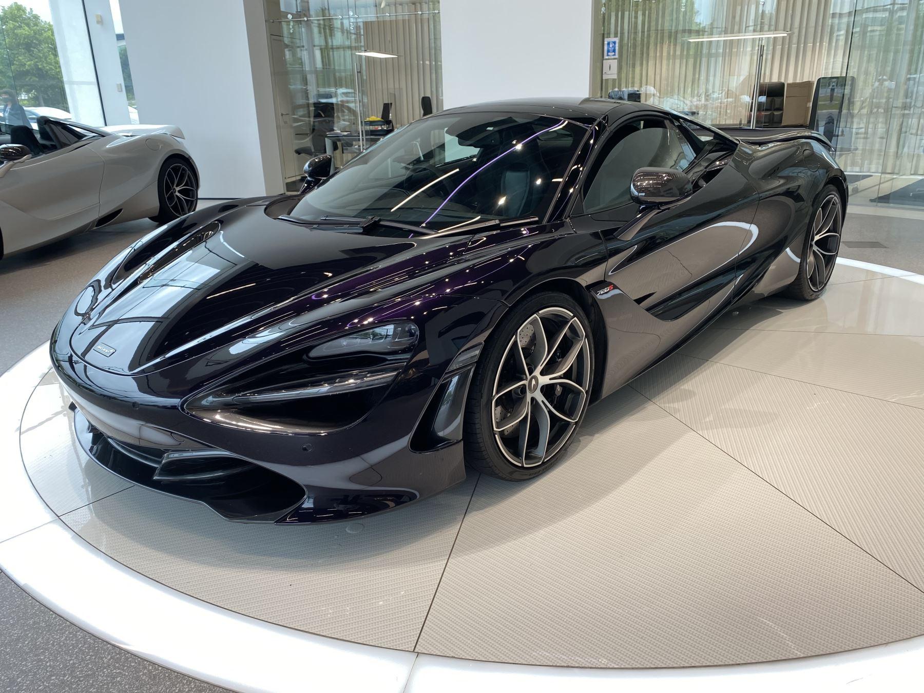 McLaren 720S Spider V8 2dr SSG  MSO PAINT SPOORTS EXHAUST SUPERB VALUE image 8