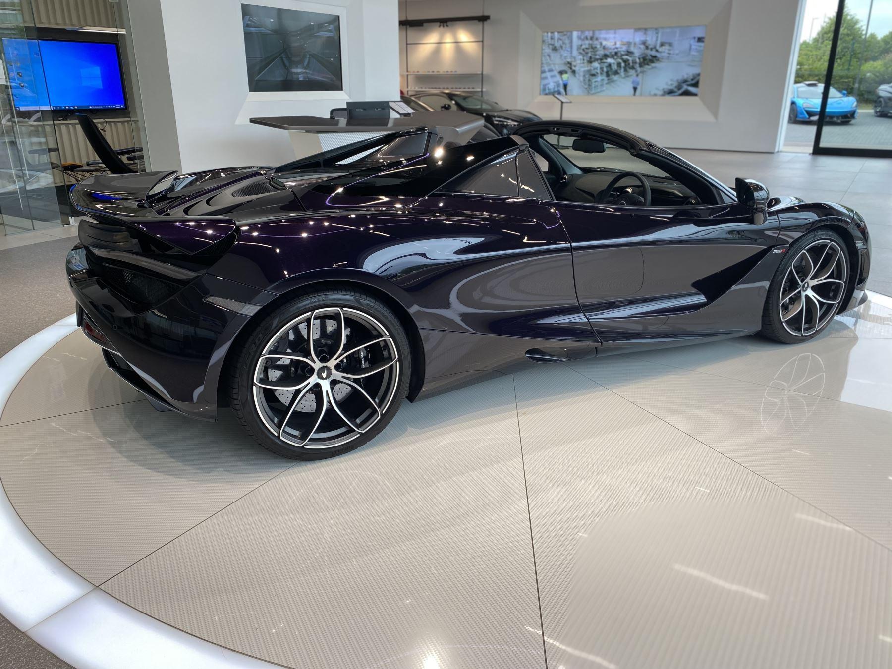 McLaren 720S Spider V8 2dr SSG  MSO PAINT SPOORTS EXHAUST SUPERB VALUE image 10