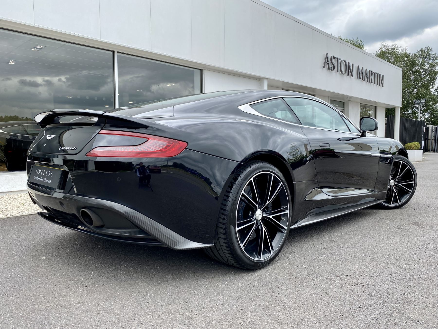 Aston Martin Vanquish V12 [568] 2+2 2dr Touchtronic 3 8 Speed, 2 Owners From New, Onyx Black, Bang And Olufsen. image 7