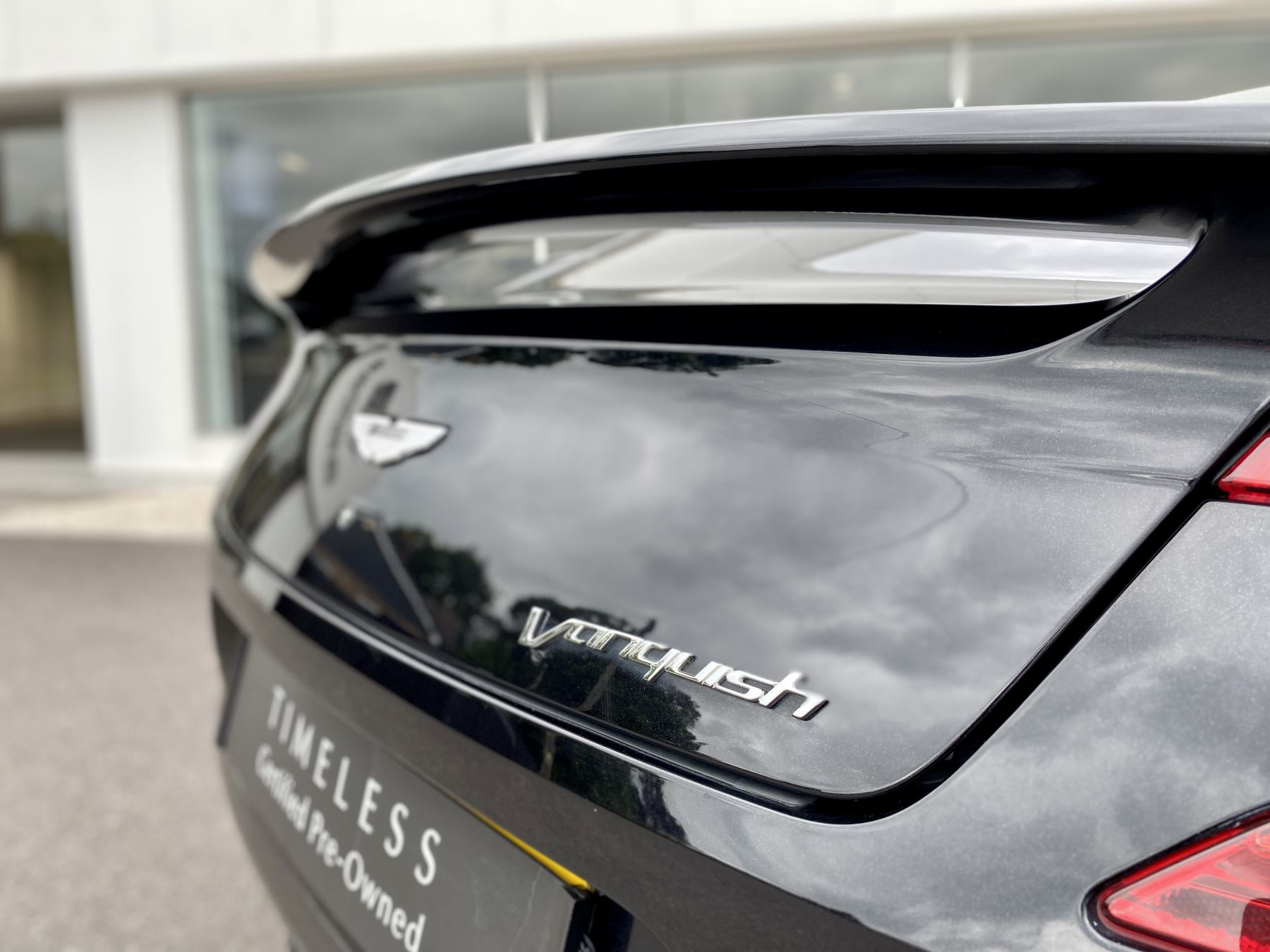 Aston Martin Vanquish V12 [568] 2+2 2dr Touchtronic 3 8 Speed, 2 Owners From New, Onyx Black, Bang And Olufsen. image 12