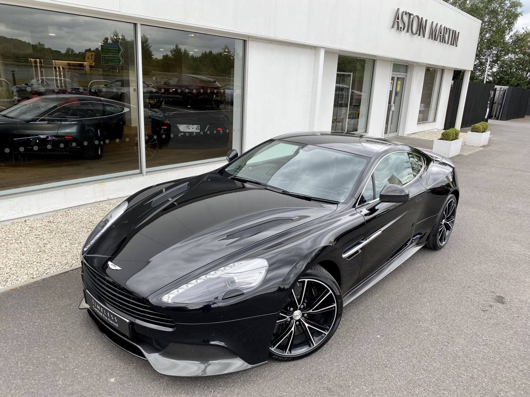 Aston Martin Vanquish V12 [568] 2+2 2dr Touchtronic 3 8 Speed, 2 Owners From New, Onyx Black, Bang And Olufsen. image 10