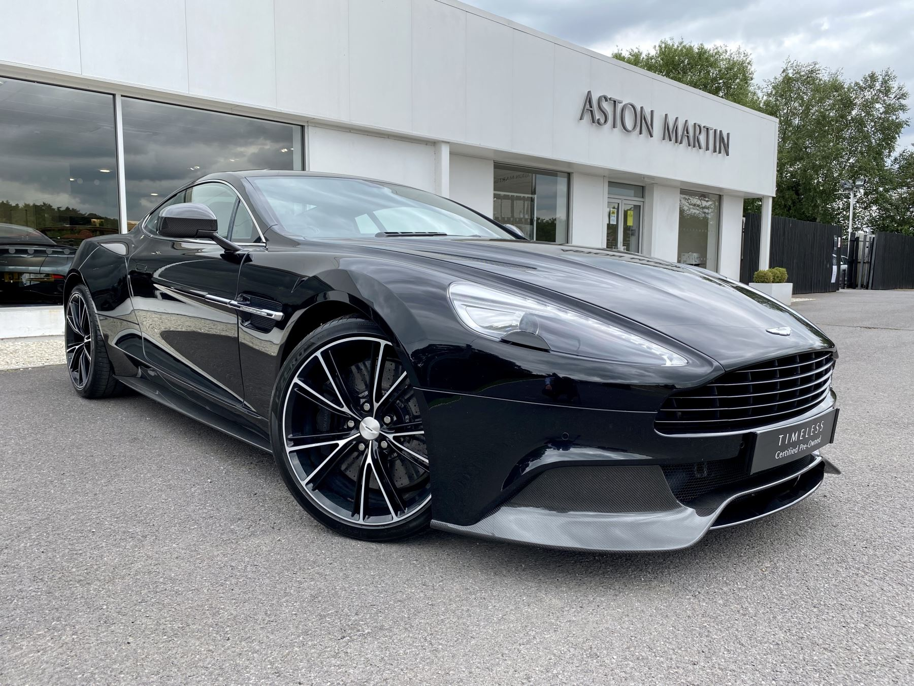 Aston Martin Vanquish V12 [568] 2+2 2dr Touchtronic 3 8 Speed, 2 Owners From New, Onyx Black, Bang And Olufsen. 5.9 Automatic 4 door Coupe
